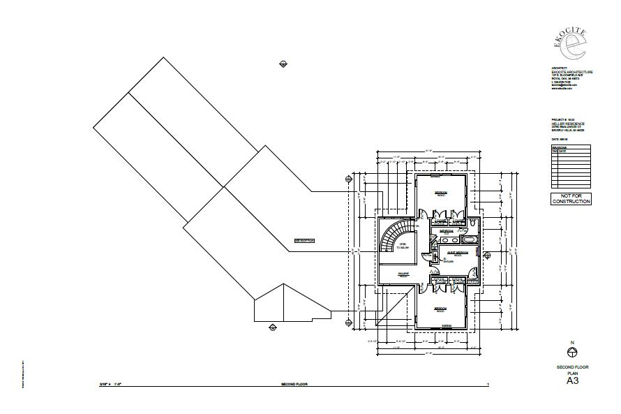 Ekocite Construction Schematic of Second Floor